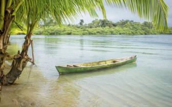 Canoe in Panama