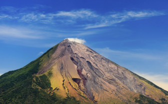 Conception Volcano in Nicaragua