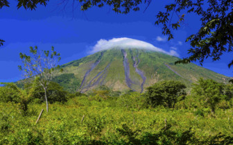 Ometepe Volcano in Nicaragua