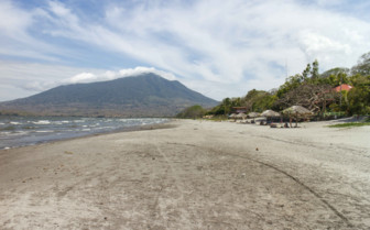 Santa Domingo Beach in Ometepe