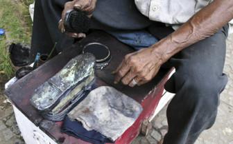 Shoe Shine in Nicaragua
