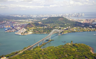 Aerial View of Panama