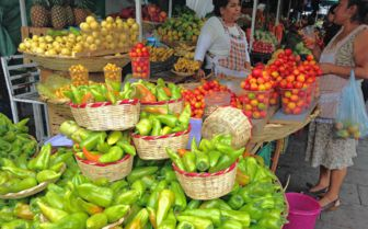 Morning market, Chiapas