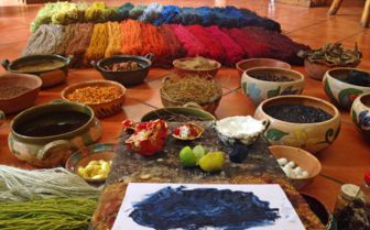 Natural dyes, Mexico