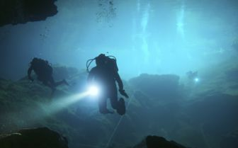 Cenote Diving, Mexico
