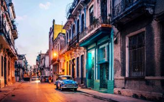 Evening in Havana
