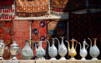 Pots on a Wall, Uzbekistan