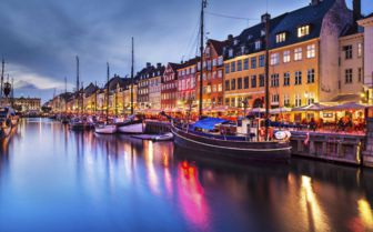 River at Night, Copenhagen