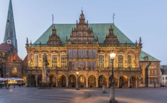 Bremen Town Hall, Germany