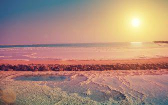 Dead Sea Shoreline, Jordan