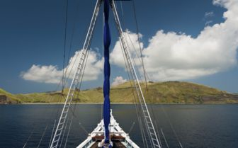 Sailing in Komodo