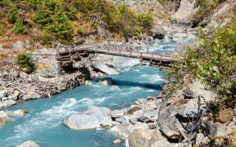River in Nepal