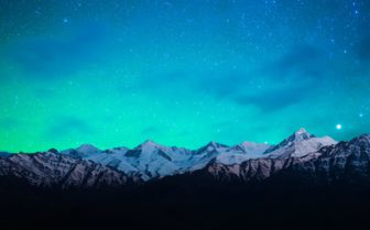 Night Sky over the Himalayas