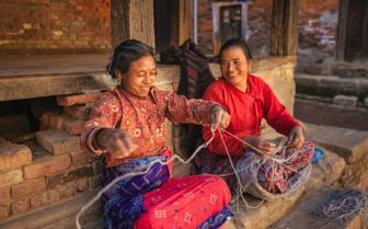 Local Women in Nepal