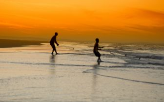 Fishermen Trawling in Nets, Mozambique