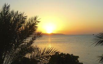 Sunset in Djibouti