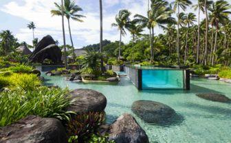 Main Pool at Laucala Island