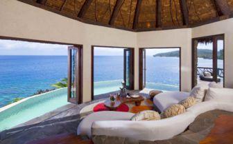 Peninsula Villa Lounge at Laucala Island