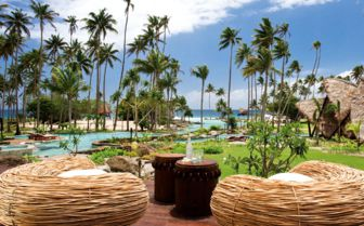 Picture of relaxation areas at Laucala Island