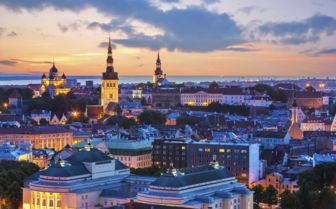 Aerial View, Tallinn
