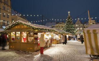 Christmas Market Tallinn, Estonia