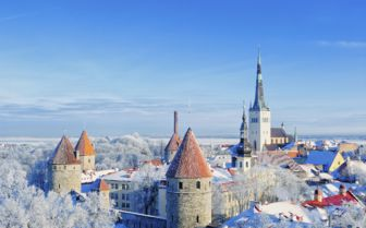 Winter View, Tallinn