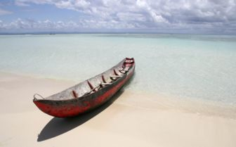 Boat on the Beach, Madagascar