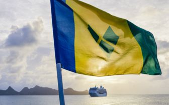 St Vincent and Grenadines Flag