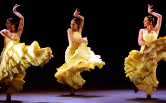Flamenco Dancers in Spain