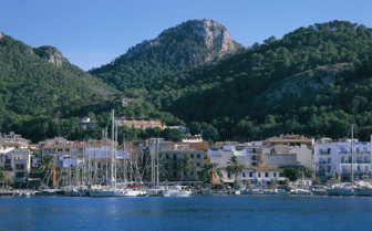 Port in Andratx, Majorca, Spain