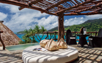 Picture of Deck Dining at Laucala Island