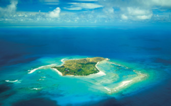 Aerial Picture of Necker Island