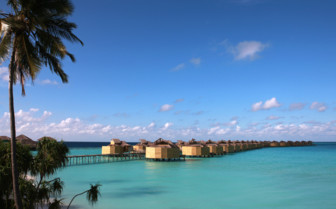 Picture of the Jetty of Water Villas, Six Senses Resort Laamu