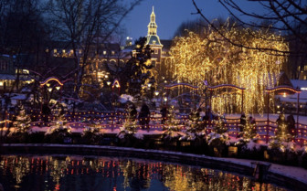 Tivoli Gardens at Christmas