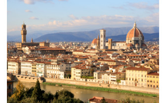 View across Florence