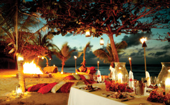 Picture of Beach BBQ, Necker Island