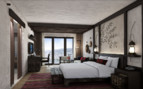 large bedroom at Alila Jabal Akhdar hotel
