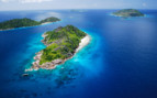 Picture of beautiful Felicite & Sisters Island Seychelles