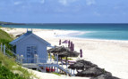 Picture of beach hut Bahamas