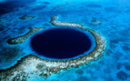 Picture of the Blue Hole at Ambergris Caye