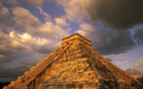 Picture of Mayan ruin Mexico