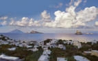 View of the sea from Hotel Raya, a luxury hotel in Panarea