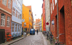Picture of Colourful buildings and cobbled streets