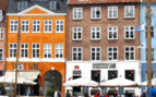 Close up of Nyhavn's restaurants