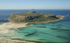 Balos Bay in the Mediterranean