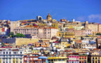 Colourful Sardinia town