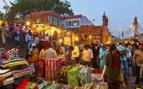 Market Bazaar by night