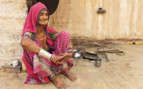 Old Woman in Rajasthan