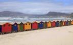 Beach huts Cape Town