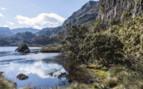 A Lake in the Ecuadorian Highlands